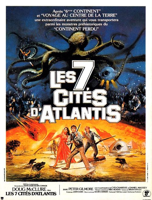 L'AFFICHE : LES 7 CITÉS D'ATLANTIS  dans Cinéma 13121507070715263611818811
