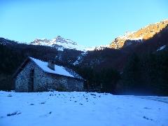 5605 Passage près de la cabane<br /> du Bourdiou d