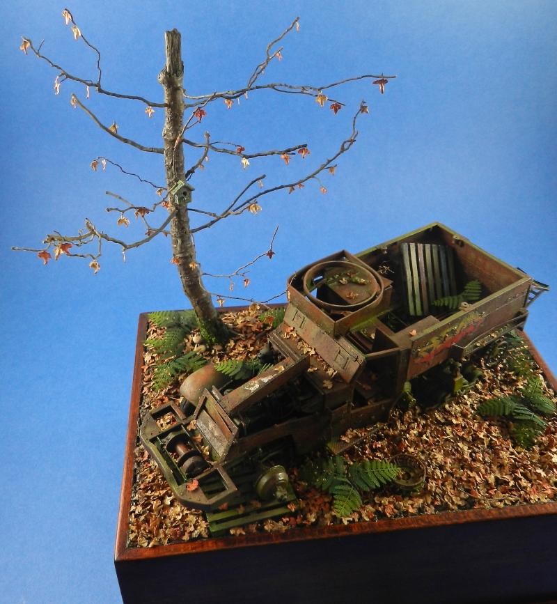 diorama épave de HALFTRACK ( terminé le 10/01/2014) 13121806444015063811827763