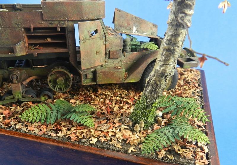diorama épave de HALFTRACK ( terminé le 10/01/2014) 13121806461115063811827767