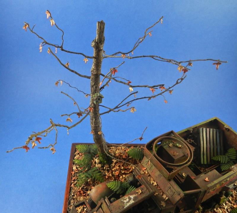 diorama épave de HALFTRACK ( terminé le 10/01/2014) 13121806485215063811827775