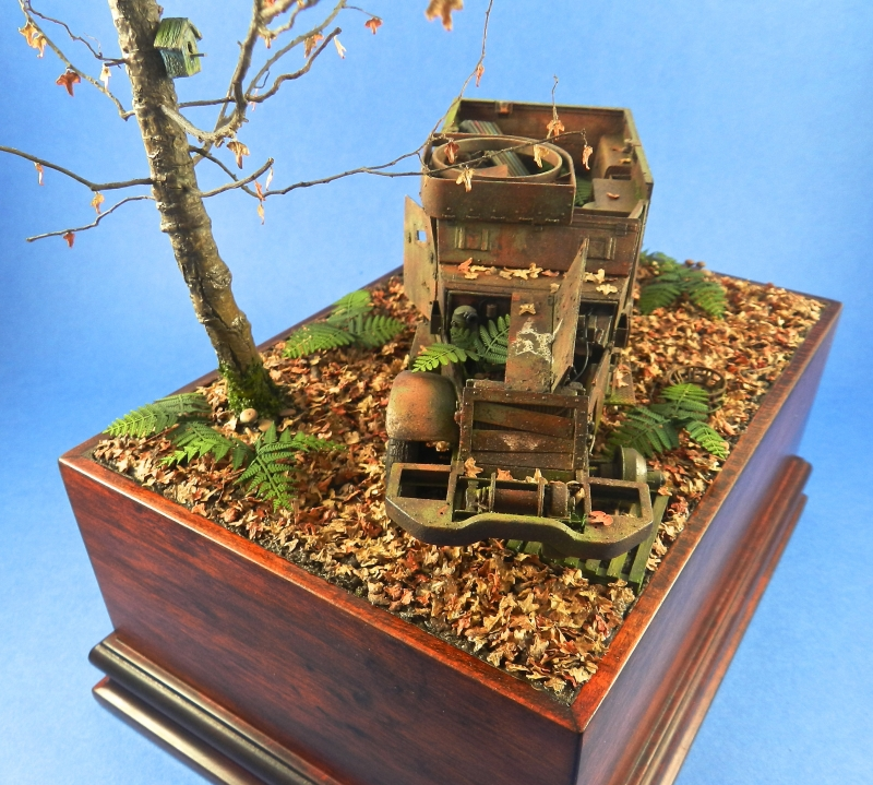 diorama épave de HALFTRACK ( terminé le 10/01/2014) 13121806492315063811827776