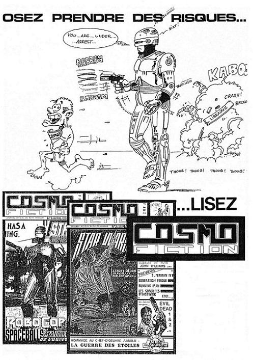 LE RETOUR DE COSMOFICTION (5) dans Fanzine CosmoFiction 13121811562215263611826807