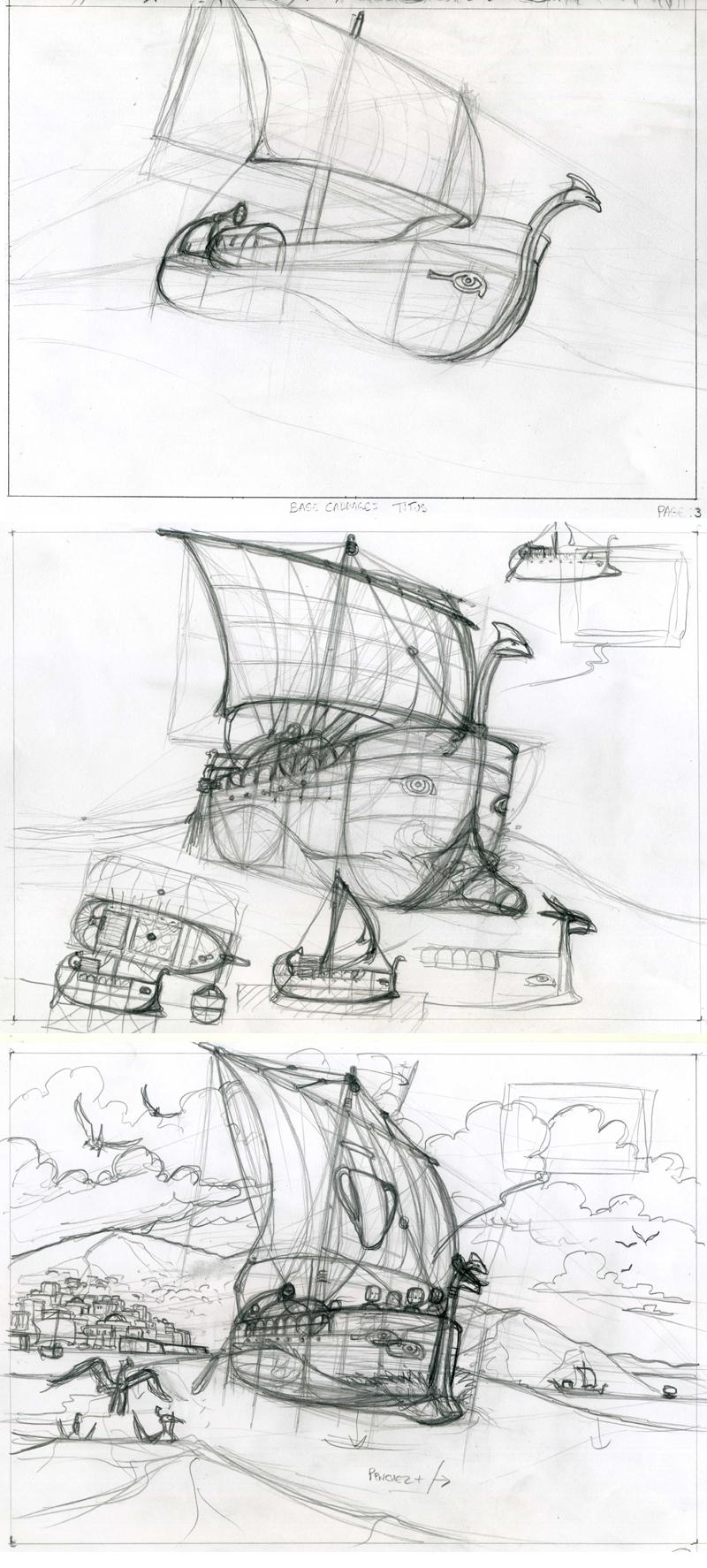 bateau crayon T4 p3 x3