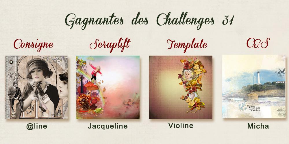 Résultats des challenges N°31 13122608192916542411845880