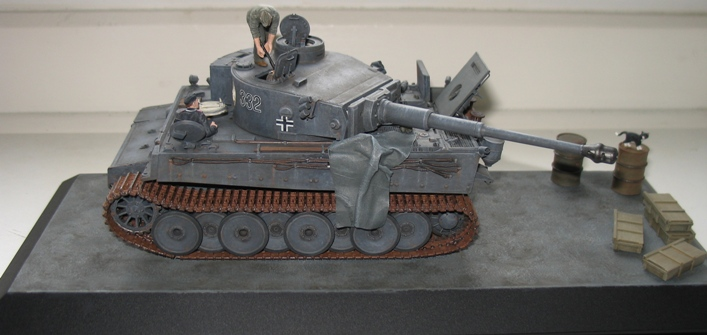 Tigre I early Zvesda 1/35 1401010333286670111861652