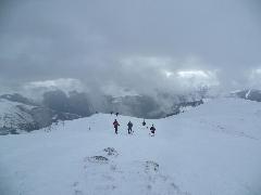 Sommet d'Antenac - 4058 Retour du Sommet d'Antenac sous la neige
