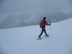 Sommet d'Antenac - 4060 Retour du Sommet d'Antenac sous la neige