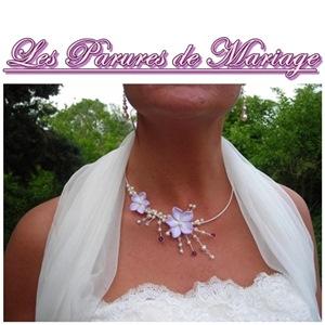 créatrice bijoux mariage wire fleur fimo