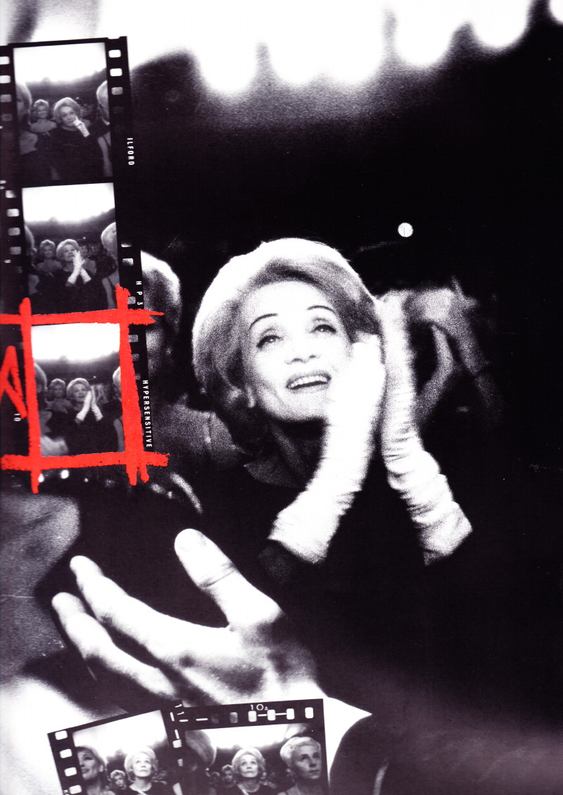 Octobre 1962 à l'Olympia : Marlene Dietrich applaudit Johnny Hallyday 14010505394416724011872830