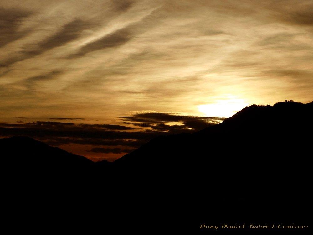 couche soleil 5 janvier 2014 alpes savoie france