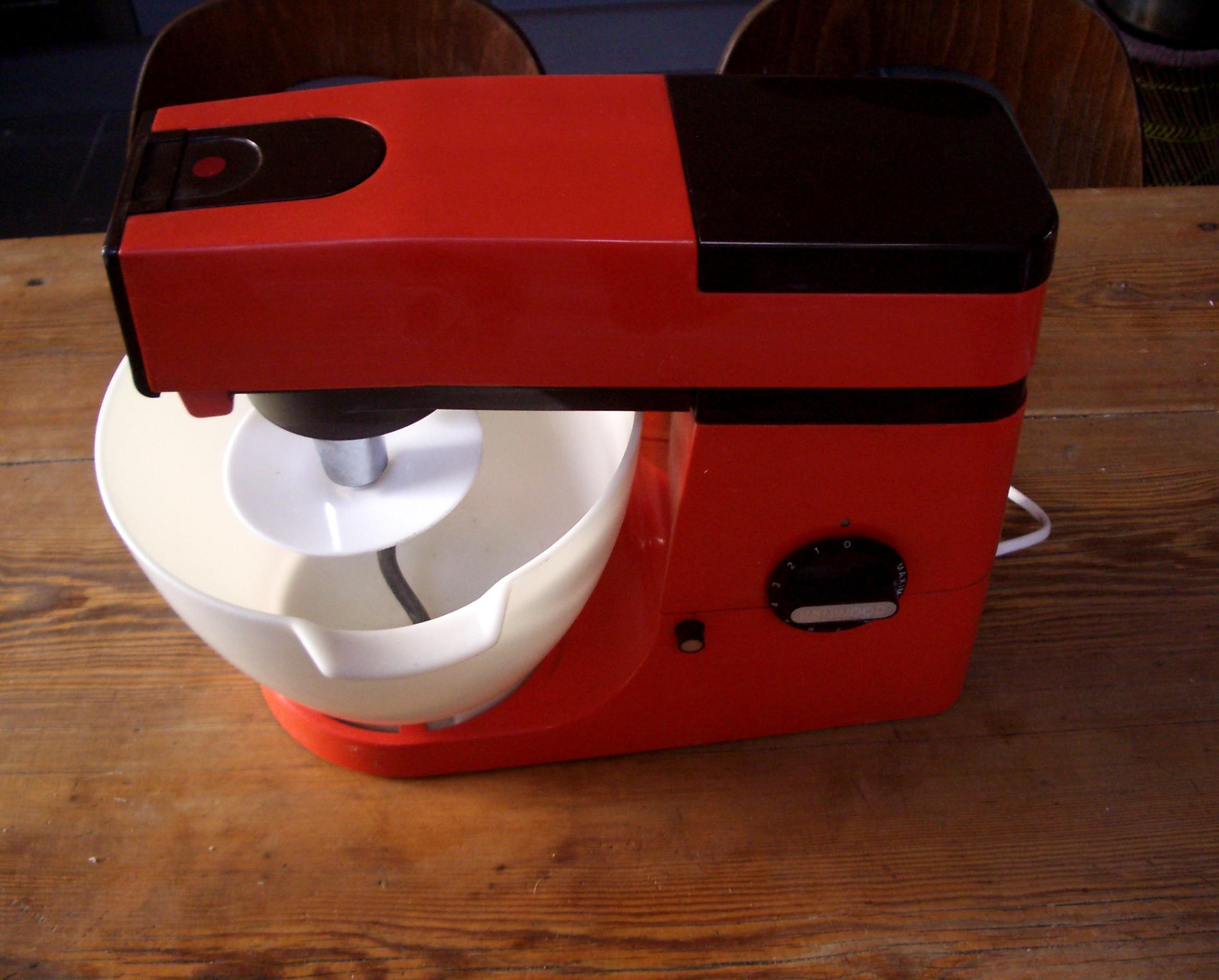 robot cuisine multifiction petrin kenwood chef a 901 orange vintage mixeur ebay. Black Bedroom Furniture Sets. Home Design Ideas