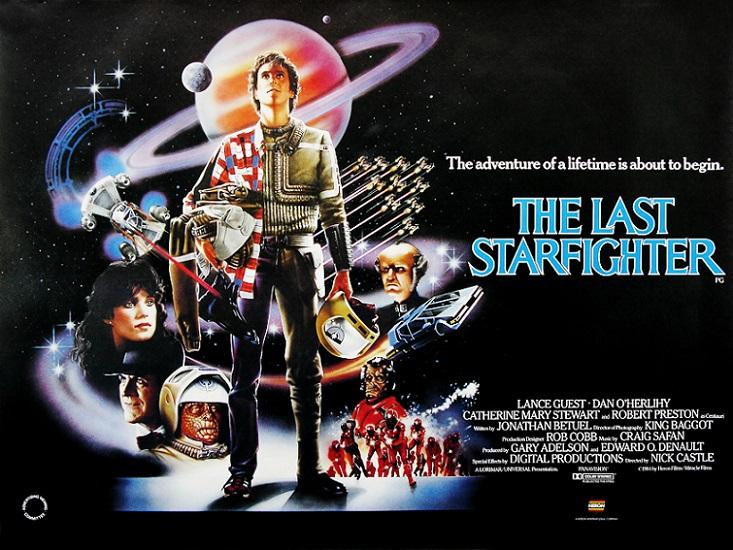 COSMOFICHE : STARFIGHTER (1984) dans CINÉMA 14010912164315263611882198