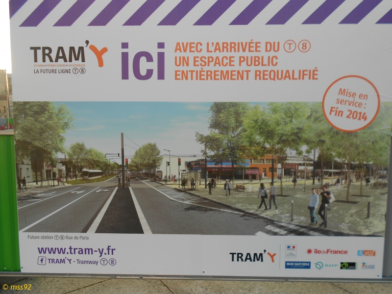 Tramway T8 : Épinay/Villetaneuse - Saint-Denis (Tram'y) - Page 2 14011108064614492411888730