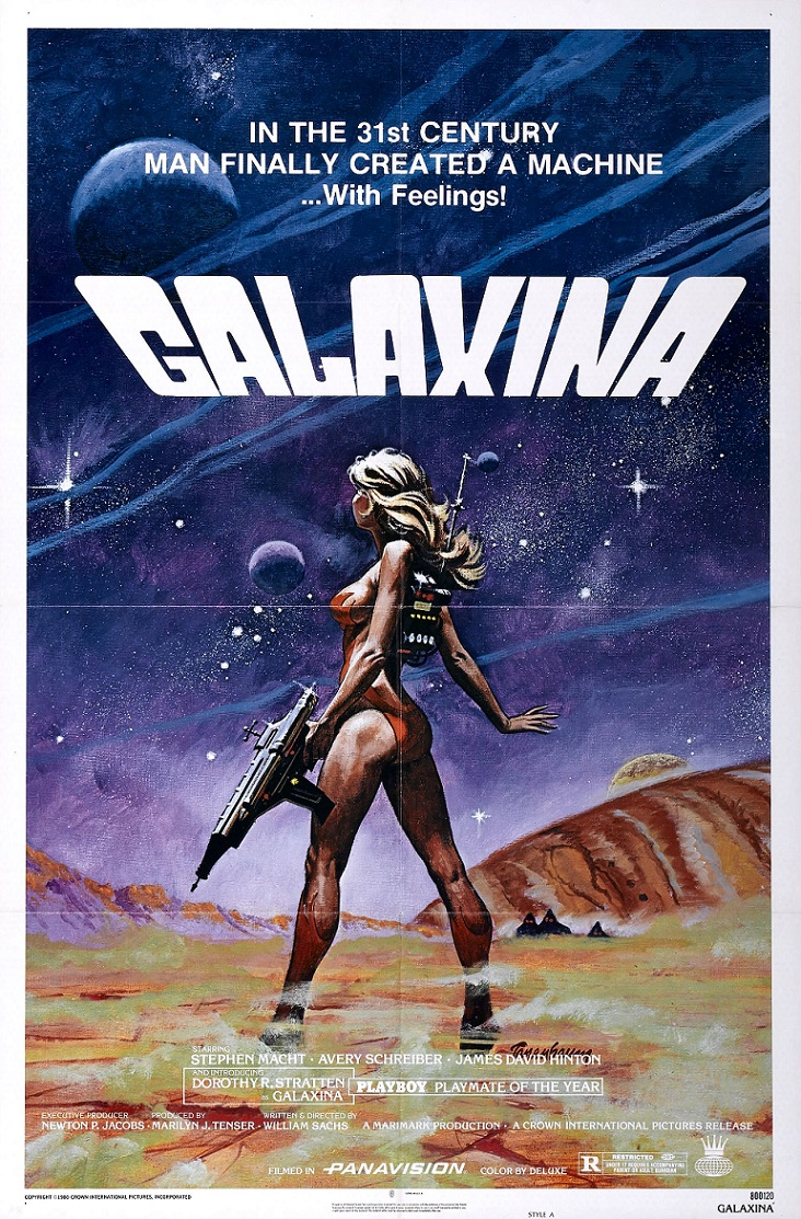 L'AFFICHE : GALAXINA (1980) dans CINÉMA 14012104252615263611916635