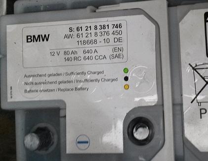 bmw e46 batteria