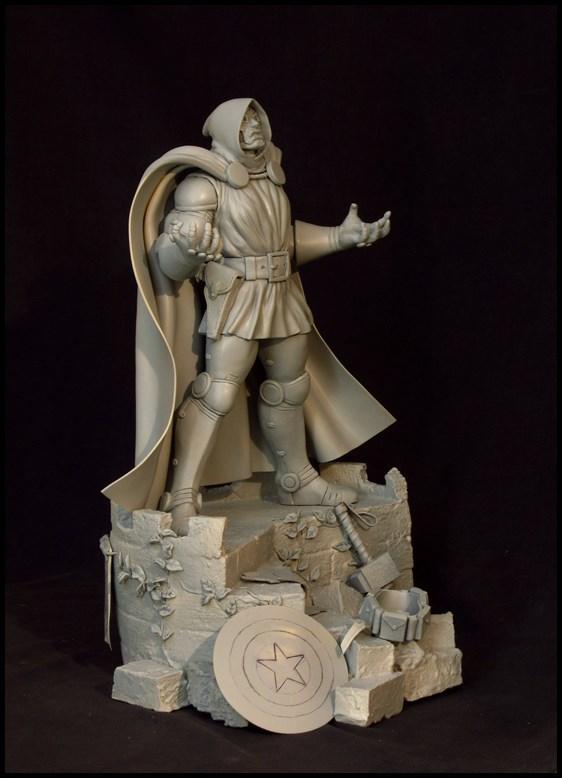 Dr Doom (Fatalis) statue au 1/5 14012508045616083611929169