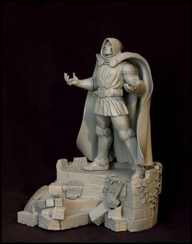 Dr Doom (Fatalis) statue au 1/5 14012508050016083611929173