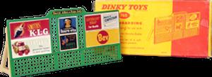 Panneau publicitaire Dinky-Toys