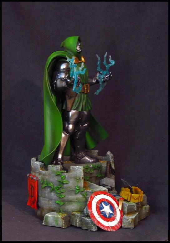 Dr Doom (Fatalis) statue au 1/5 14013103462616083611944749