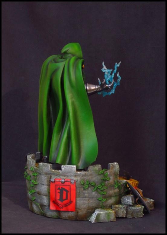 Dr Doom (Fatalis) statue au 1/5 14013103463316083611944750