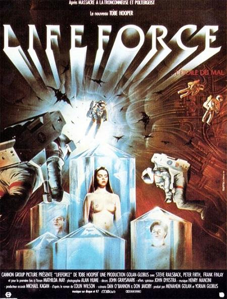 COSMOFICHE : LIFEFORCE (1985) dans CINÉMA 14013105020815263611943639