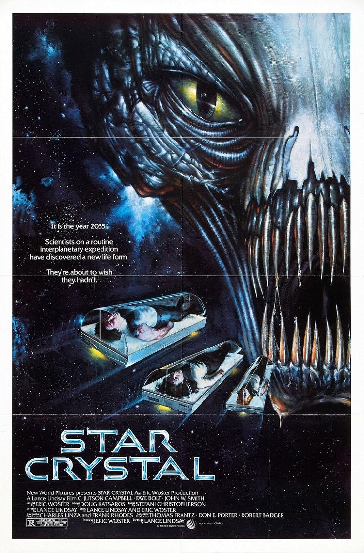 L'AFFICHE : STAR CRYSTAL (1986) dans CINÉMA 14020607331415263611960499