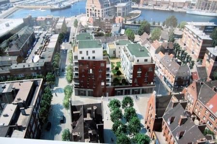 De Salengroplaats, de volgende architecturale vlek van Duinkerke? - Den draed 14020612261414196111960906
