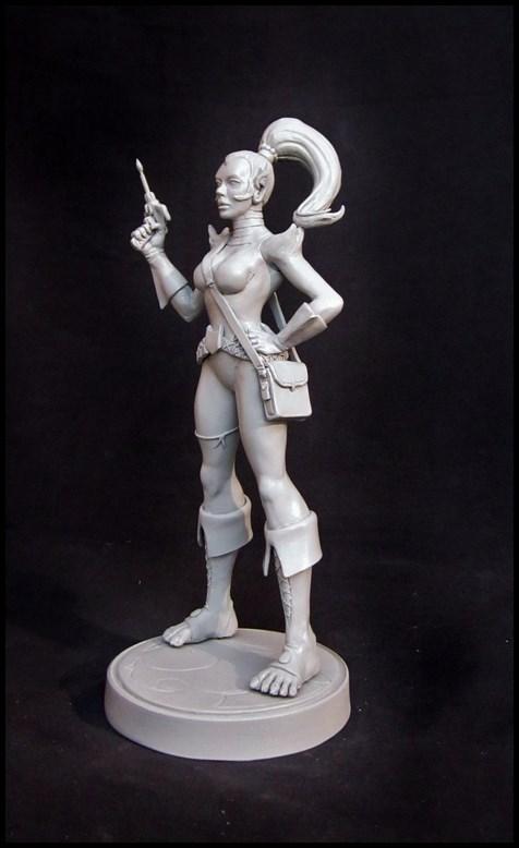 Thundercats Lynxana statue by nimajneb 14020703281616083611963605