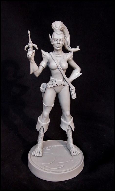 Thundercats Lynxana statue by nimajneb 14020703281916083611963608