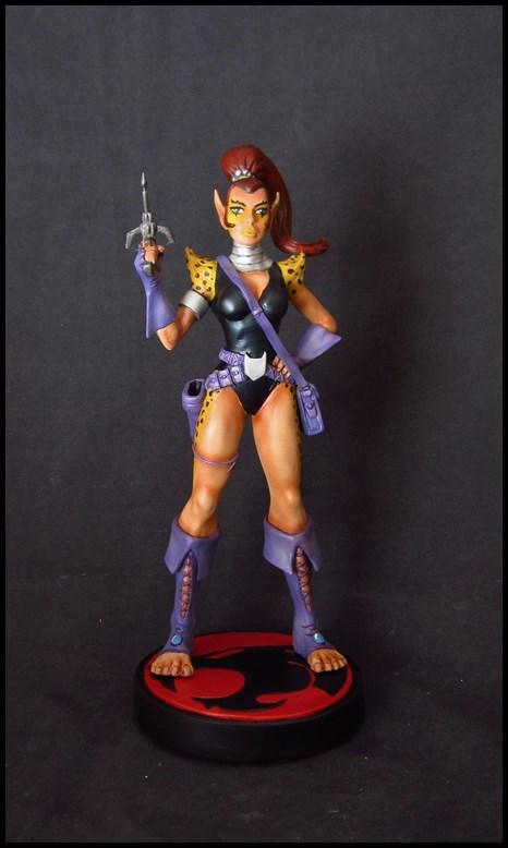 Thundercats Lynxana statue by nimajneb 14020903051716083611968816