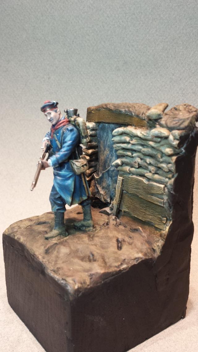 Fusilier Marin 1914 Dixmude - Métal model 14021505510714336411985870