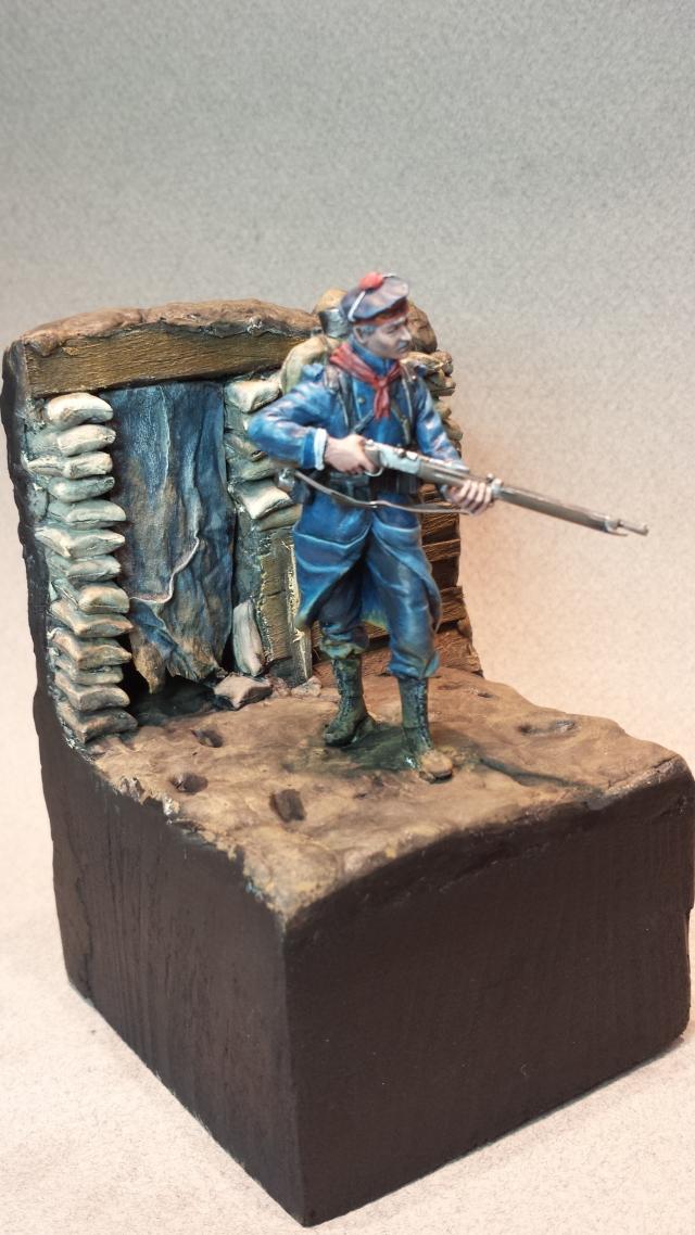 Fusilier Marin 1914 Dixmude - Métal model 14021505513414336411985882