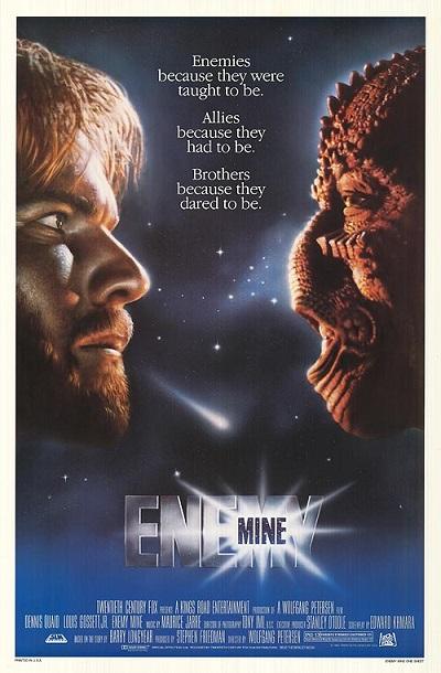 COSMOFICHE : ENEMY (1985) dans CINÉMA 14021507235515263611984389