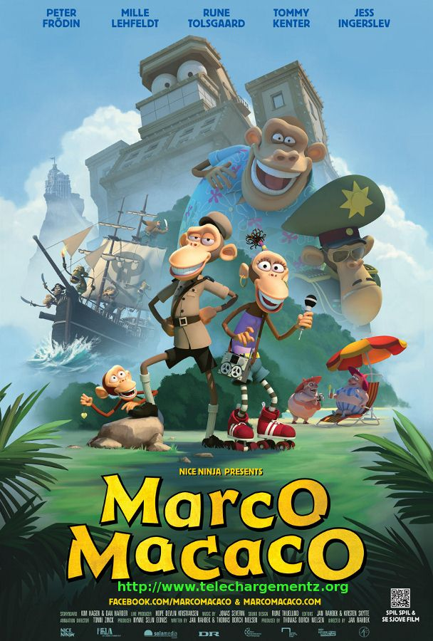 Marco Macaco : l'île aux pirates |FRENCH| [WebRip]