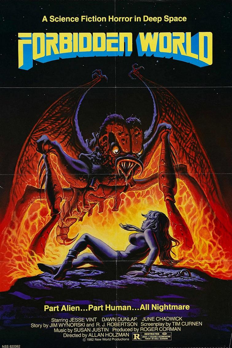 L'AFFICHE : FORBIDDEN WORLD (1982) dans HORREUR 14021909234415263611996407