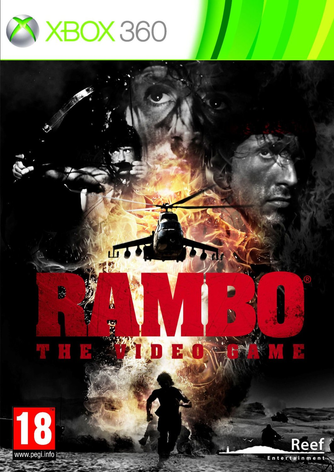 Poster for Rambo: The Video Game