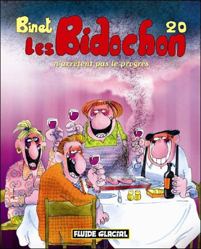 Les Bidochon - tome 01 a 20