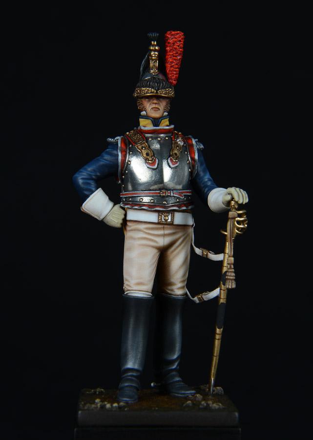 Vitrine de Bernard.S (Métal Modèles, bien entendu...) Trompette des 9ème et 7ème Hussards - Page 2 1403050236373593412037171