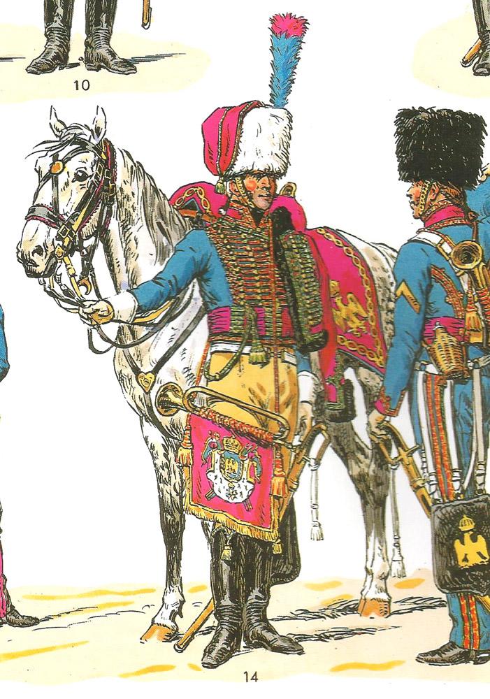 Trompette des chasseurs de la Garde Imperiale 1403060315403593412040866