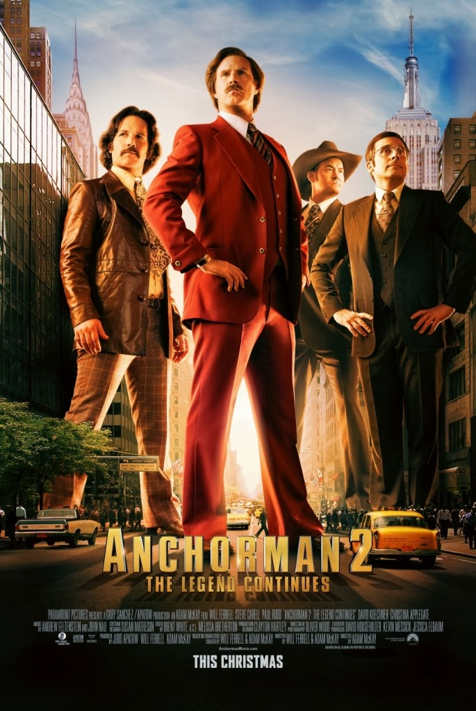film Anchorman 2: The Legend Continues en streaming