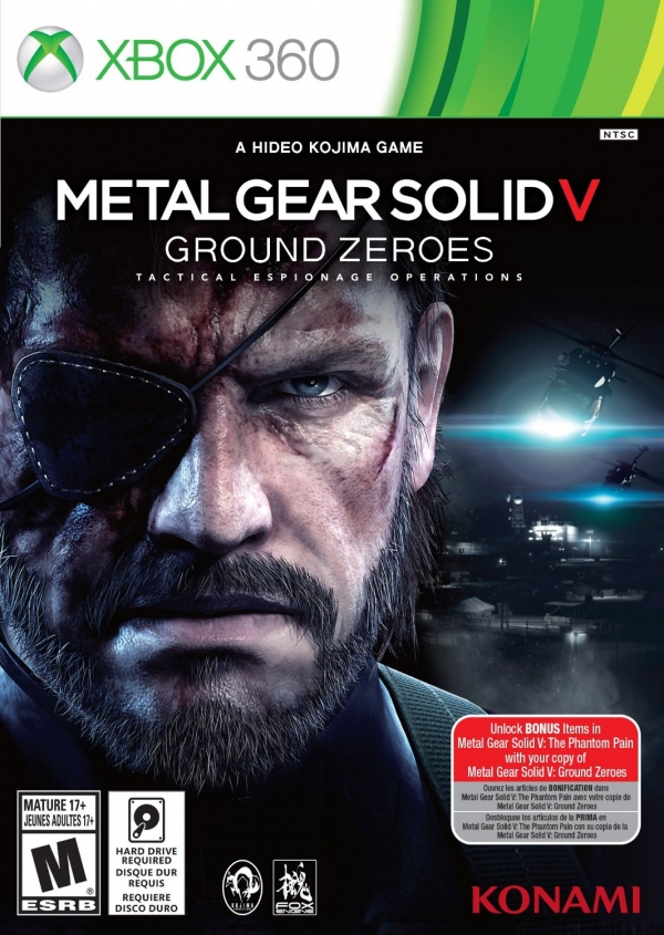 Poster for Metal Gear Solid V: Ground Zeroes