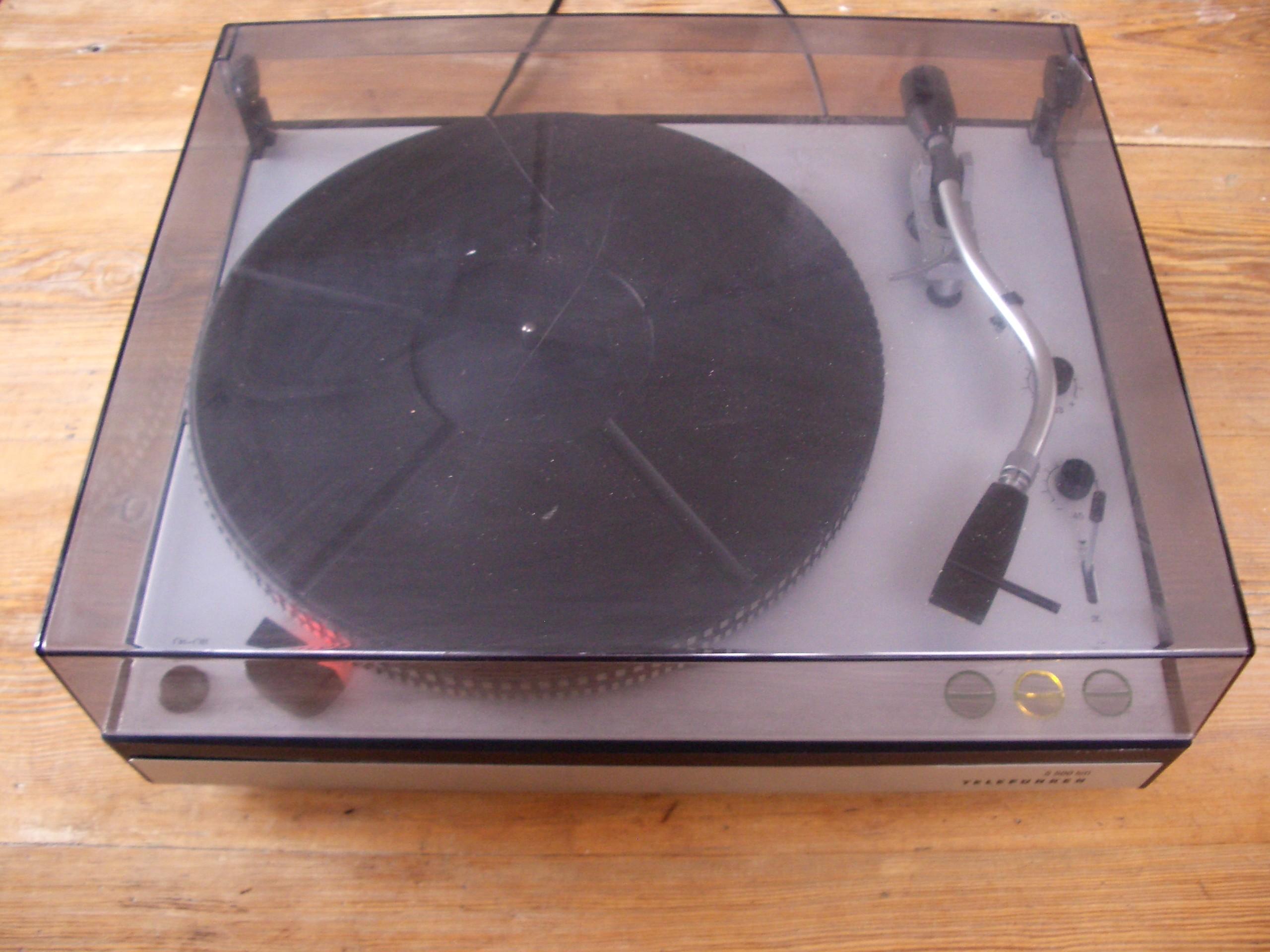 Platine vinyles telefunken s 500 hifi rare turntable vintage ebay - Platines vinyles vintage ...