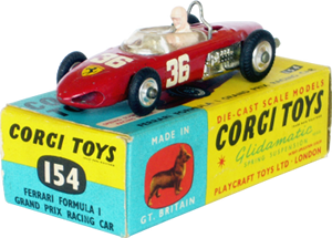 Ferrari Formule 1 Corgi-Toys