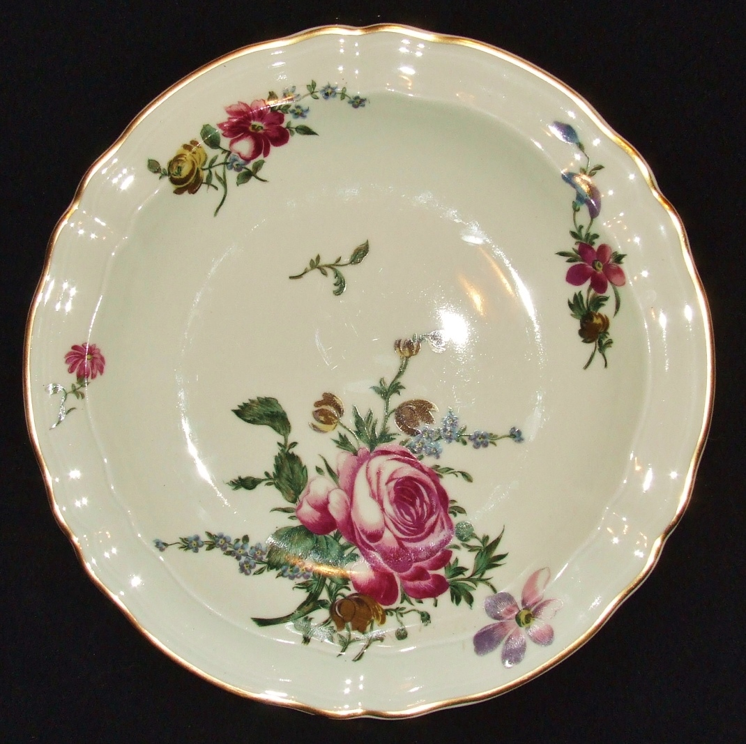 Porcelaine de limoges bernardaud 6 assiettes creuses decor - Porcelaine de limoge ...