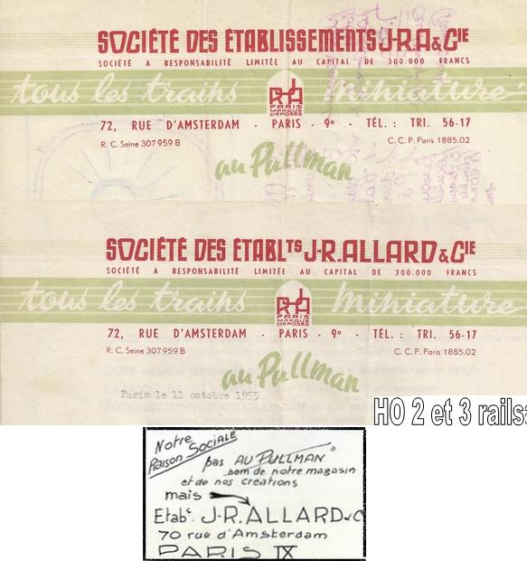Allard - JR Allard - JRA - Au Pullman Les tacots 1403220654308789712088290