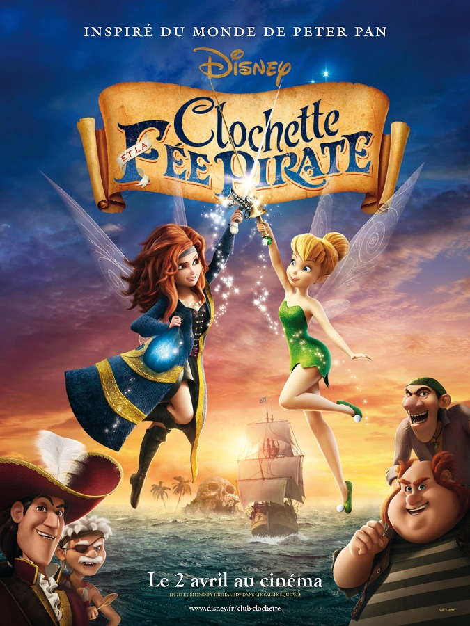 Clochette et la fée pirate [BDRip] [MULTI]