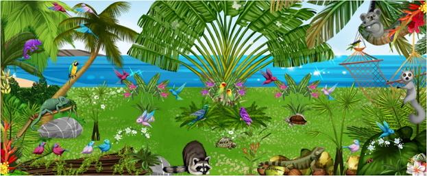 Ti-gigi Jardins du monde