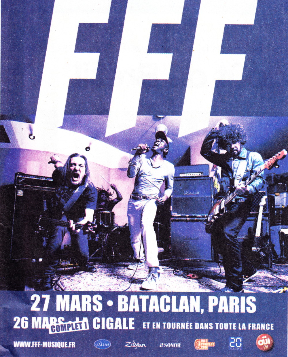 "Interview de FFF ""REBIRTH SPRING TOUR 2014"" dans ""A nous Paris"" (24 au 30 mars 2014) 14032411504716724012094684"