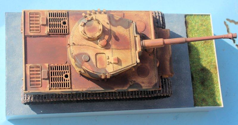 Tigre 1 Aufs E Late Vimoutier - AFV 35079 - 1/35 - FINI 14032804445714106612105001